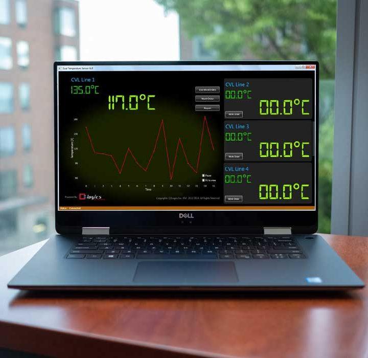 Q3L Temperature Monitoring UI